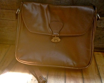 Vintage Brown Leather Etienne Aigner Purse