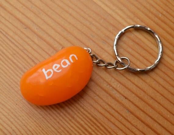 Jelly Bean Keychain Polymer Clay