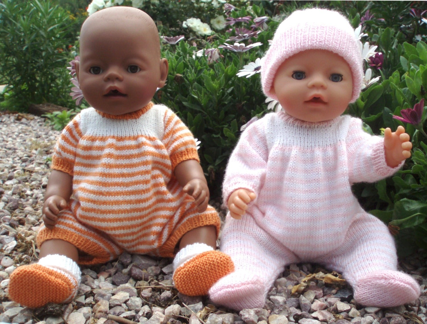 Felicity Onesie Body suit PDF Knitting Pattern for Doll