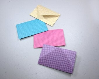Handmade Giftcard Envelopes—Crosshatch
