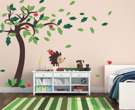 baby boy nursery ideas tree decals for walls wall sticker. Black Bedroom Furniture Sets. Home Design Ideas
