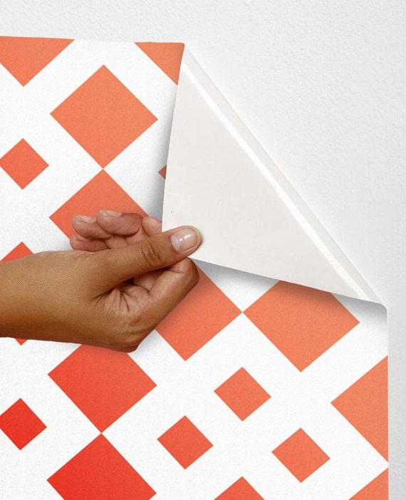 Diamond wall decal removable vinyl wallpaper vinyl adhesive for Temporary vinyl wallpaper