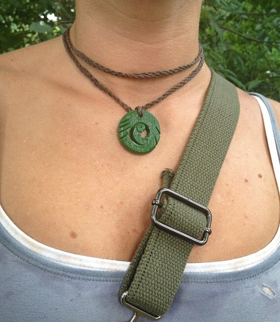Tomb Raider Necklace (Clay Sculpted Edition) for Lara Croft Cosplay