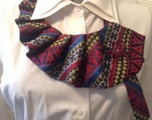 Recycled Men's Necktie with Brooch