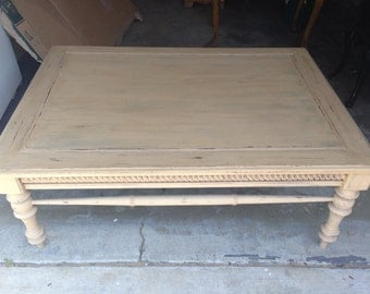 SOLD** Shabby chic coffee table
