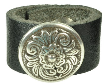 "Leatherring ""diablo round"""