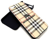 Burberry Logo for iPhone 4 / 4s or iPhone 5 case, Black or White. ' Leave Note for Option '