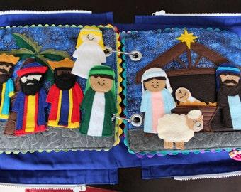 Felt Nativity Quietbook Pattern