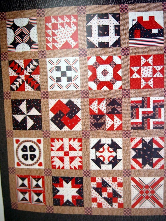 The New Sampler Quilt By Diana Leone Quilt Pattern By
