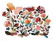 the wildflowers - giclee,...