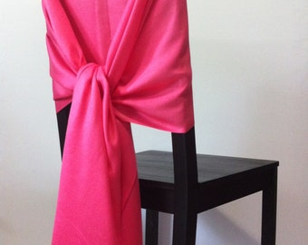 CORAL PINK PASHMINA, Coral Pashmina Scarf, Coral Pashmina Shawl, Wedding Shawl, Pashmina Wrap, Bridesmaid Shawl, Wedding Favor, Chair Covers