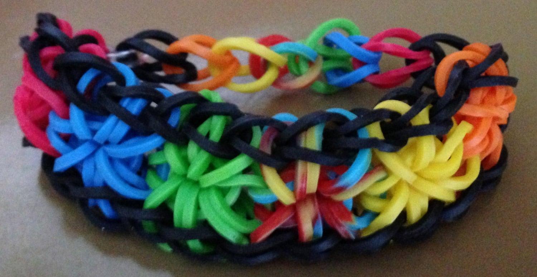 how to make a handmade starburst bracelet