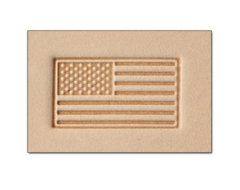 American Flag -  Leather Stamp Tool