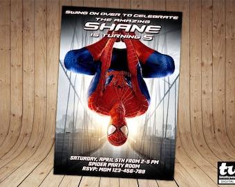 The Amazing Spiderman Invitation