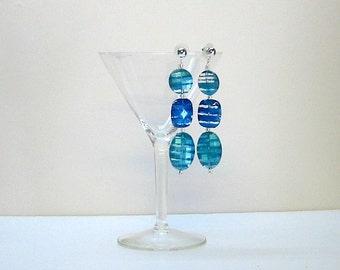 Mod Rock Candy earrings