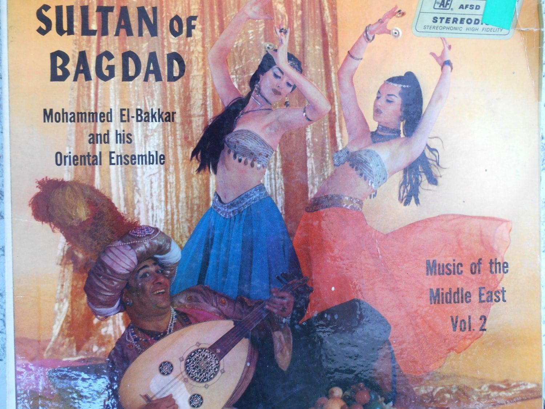 Mohammed El Bakkar His Oriental Ensemble Exotic Music Of The Belly Dancer