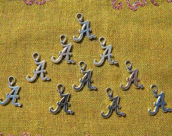Intial Alphabet Letter A  - 10 Charms