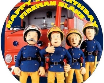 Popular items for fireman sam on etsy - Feuerwehrmann sam wandbild ...