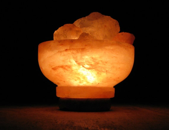 Himalayan Salt Lamps Authentic : Authentic Himalayan salt crystal lamp filled by HimalayanSaltLamps