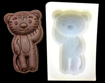 Zodiac Tiger Chocolate Mold Flexible Silicone Cake Fondant Mould Candle Icing Chocolate Fimo Resin Crafts C0079 DIY Mould in Handmade