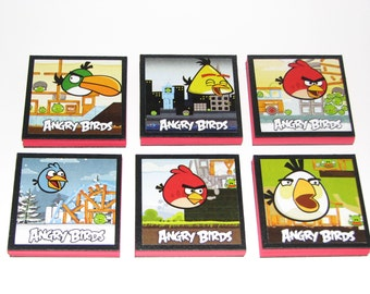 Angry Birds Note Pads Set of 6 - Excellent Party Favors