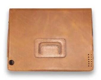 Sale on Handcrafted brown Leather iPad case,ipad sleeve,ipad case