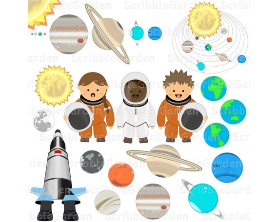 solar system clipart - photo #25