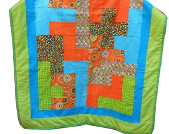"A ""Pentominoes"" Baby Quilt"