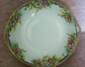 Morimura Brothers Hand Painted Nippon Serving Bowl - 2739