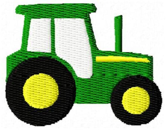 Embroidery Of Tractors : Tractor mini embroidery design from appliquedesignsnet on