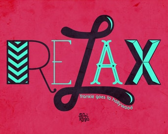 Frankie Goes To Hollywood - Relax Print