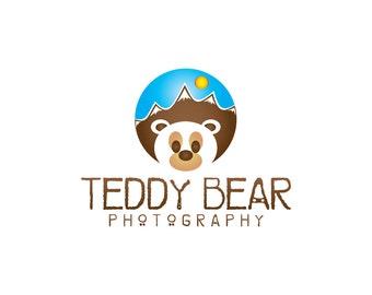 Teddy Bear Logo Etsy