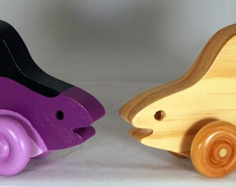 """Wooden Toy """"Sharky Shark"""" Child Safe, Handcrafted from Reclaimed Wood, Eco-friendly by GiggleTree Toys"""