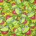 Kermit the frog Jim Henson  FLANNEL Fabric by the HALF Yard modern craft material quilting cotton fun girls summer bikini sun