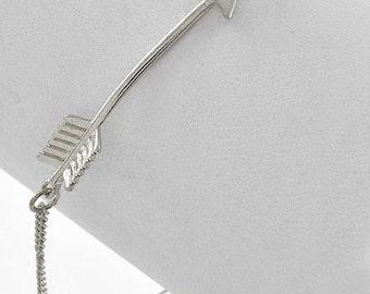 Arrow Bracelet (Silver)