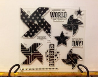 CTMH Pinwheel stamp set S1305