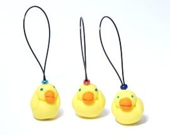 Ducks knitting stitch markers