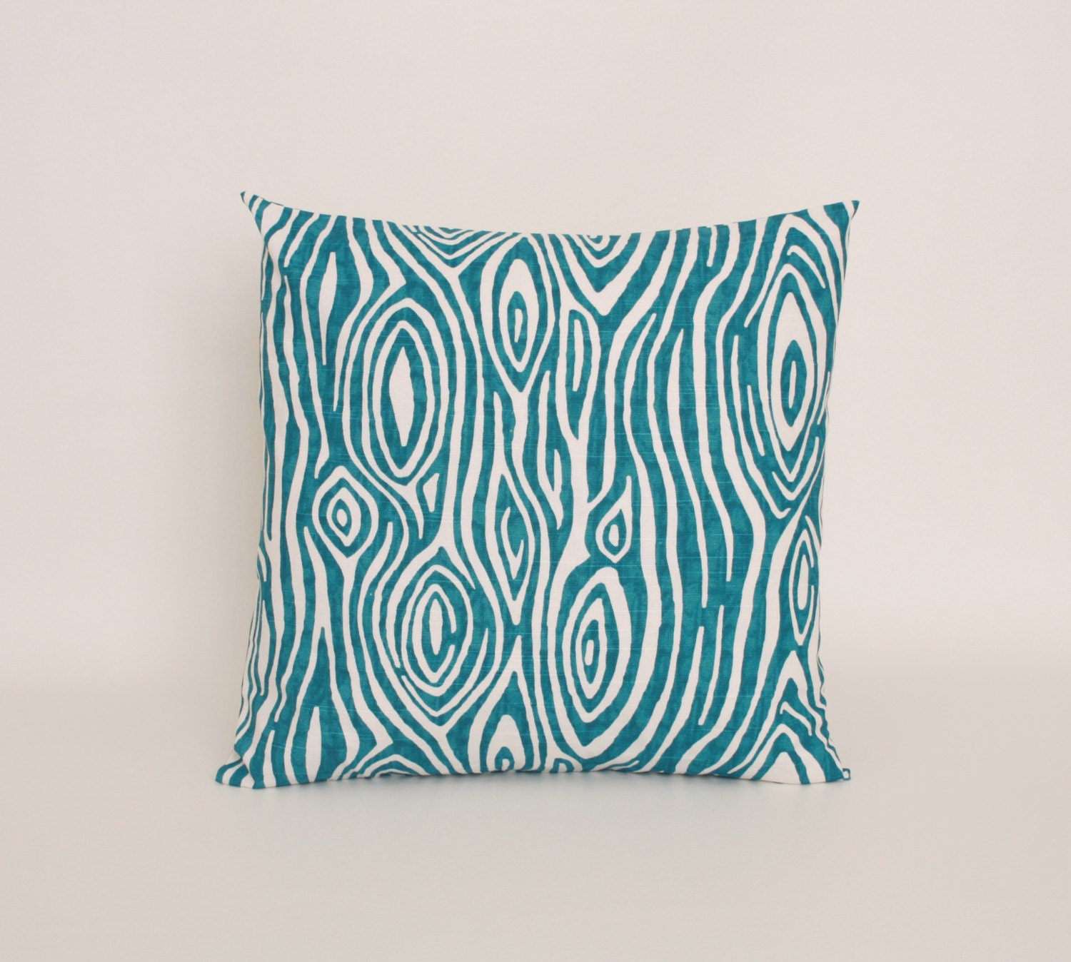 Teal Blue Throw Pillow : Blue Throw Pillow Cover Teal Blue Accent by DimensionsHomeDecor