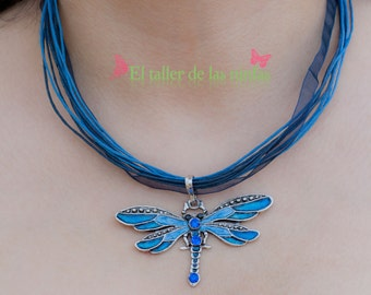 """Pendant """"Dragonfly"""" / Necklace """"Dragonfly"""""""