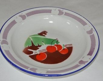 Bumper Harvest Plate, 1950's