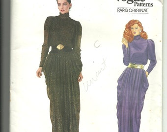 Vogue Patterns Paris Originals Christian Dior Dress