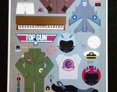 Top Gun • Movie Parts Poster
