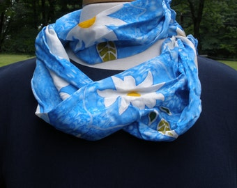 Daisy Days Silk Scarf