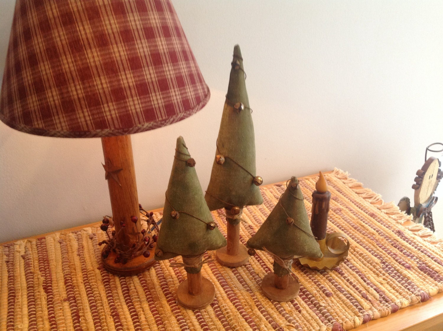 Christmas Tree Trio By TheOldeCrowsTreasure On Etsy