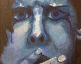 Original acrylic painting.