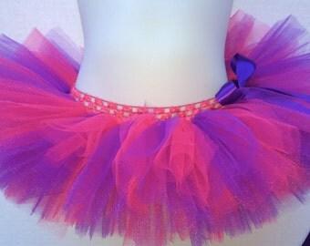 Pink and Purple Tutu, Baby Tutu, Valentine's Day Tutu