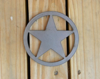 Laser Cut Metal Stars any size