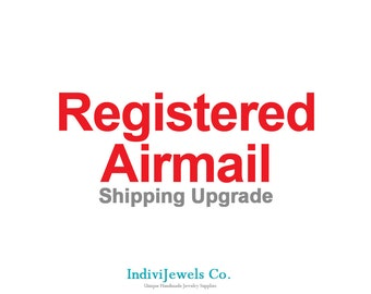 Registered Shipping Upgrade