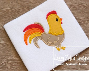 Rooster Applique Design