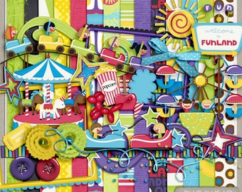 Funland Digital Scrapbooking Kit